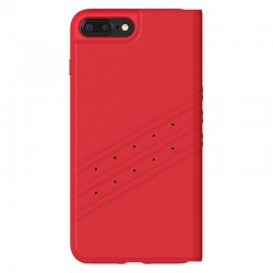 Capa Flip Cover iPhone 6 Plus / 6s Plus Oficial Adidas Vermelho iPhone 6|6s Plus