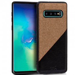 Capa Samsung G975 Galaxy S10 Plus Bicolor Bege Galaxy S10 Plus