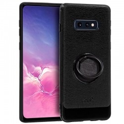 Capa Samsung G970 Galaxy S10e Leather Pele Preto Galaxy S10e