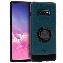 Capa Samsung G970 Galaxy S10e Leather Pele Verde Galaxy S10e