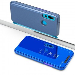 Capa Flip Cover Huawei P Smart Plus (2019) / P Smart (2019) / Honor 10 Lite Clear View Azul P Smart (2019) | Honor 10 Lite