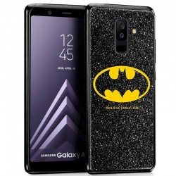 Capa Samsung A605 Galaxy A6 Plus Oficial DC Glitter Batman Galaxy A6 Plus