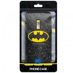 Capa Samsung G965 Galaxy S9 Plus Oficial DC Glitter Batman Galaxy S9 Plus