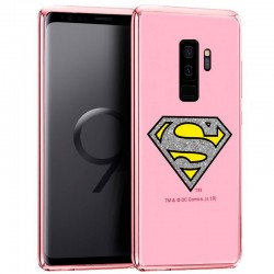 Capa Samsung G965 Galaxy S9 Plus Oficial DC Glitter Superman Galaxy S9 Plus