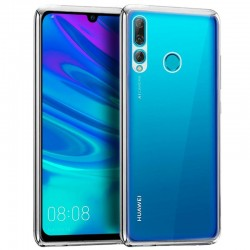 Capa Huawei P Smart Plus (2019) Borda Metalizado (Prateada) P Smart Plus 2019