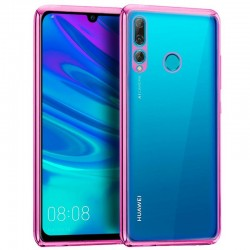 Capa Huawei P Smart Plus (2019) Borda Metalizado (Rosa) P Smart Plus 2019