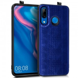 Capa Huawei P Smart Z Leather Pele Azul P Smart Z