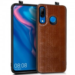 Capa Huawei P Smart Z Leather Pele Castanho P Smart Z