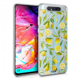 Capa Samsung A805 Galaxy A80 Clear Lemon Galaxy A80