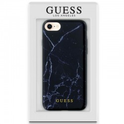 Capa iPhone 7 / iPhone 8 Oficial Guess Mármore Preto iPhone 7|8|SE 2020