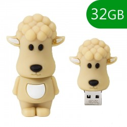 Pen Drive USB x32 GB Silicone Ovelha Pen Drives
