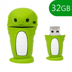 Pen Drive USB x32 GB Silicone Serpente Pen Drives