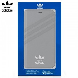Capa Flip Cover iPhone X / iPhone XS Oficial Adidas Gray iPhone X | iPhone XS