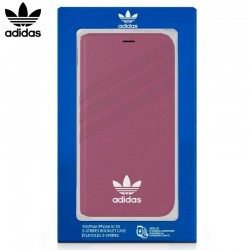 Capa Flip Cover iPhone X / iPhone XS Oficial Adidas Rosa iPhone X | iPhone XS