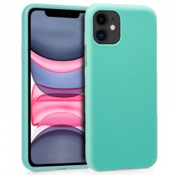 Capa Silicone iPhone 11 (Mint)