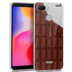 Capa Xiaomi Redmi 6 / 6A Clear Chocolate Redmi 6 | 6A