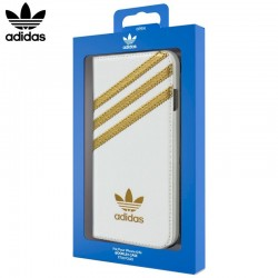 Capa Flip Cover iPhone 6 / 6s Oficial Adidas Branco iPhone 6|6S