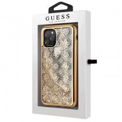 Capa iPhone 11 Pro Max Oficial Guess Liquid Dourado iPhone 11 Pro Max