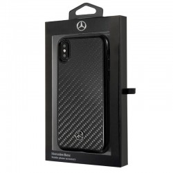 Capa iPhone XS Max Oficial Mercedes-Benz Carbono iPhone XS Max