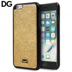 Capa iPhone 6 Plus / 6s Plus Oficial Dolce and Gabbana Dourado iPhone 6|6s Plus