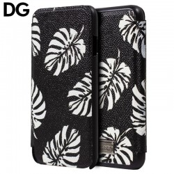 Capa Flip Cover iPhone 7 / iPhone 8 Oficial Dolce Gabbana Palmeira iPhone 7|8|SE 2020