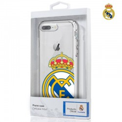 Capa iPhone 7 Plus / iPhone 8 Plus Oficial Real Madrid Transparente iPhone 7|8 Plus