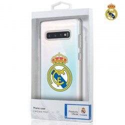 Capa Samsung G975 Galaxy S10 Plus Oficial Real Madrid Transparente Galaxy S10 Plus