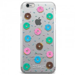 Capa iPhone 6 / 7 / 8 / SE (2020) Oficial Mr Wonderful Donuts iPhone 7|8|SE 2020