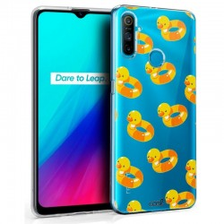 Capa Realme C3 Clear Patos