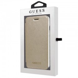 Capa Flip Cover IPhone 6 Plus / 7 Plus / 8 Plus Oficial Guess Gold iPhone 7|8 Plus
