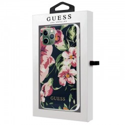 Capa iPhone 11 Pro Max Oficial Guess Flores Marino iPhone 11 Pro Max