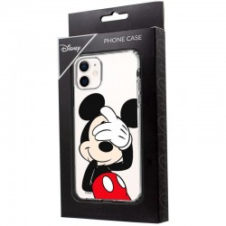 Capa IPhone 12 mini Oficial Disney Mickey (Transparente) iPhone 12 mini