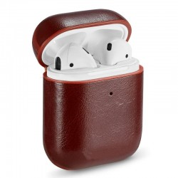Capa Soft Apple Airpods (Leather Castanho) Airpods