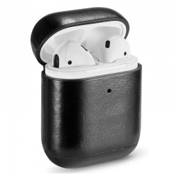 Capa Soft Apple Airpods (Leather Preto) Airpods