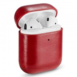 Capa Soft Apple Airpods (Leather Vermelho) Airpods