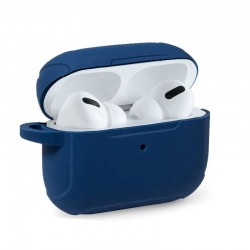 Capa Soft Silicone Apple Airpods Pro (Azul) Airpods
