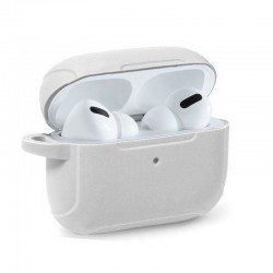 Capa Soft Silicone Apple Airpods Pro (Branco) Airpods