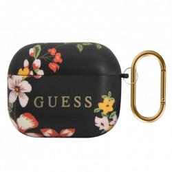 Capa Soft Silicone Apple Airpods Pro Oficial Guess Flores Airpods