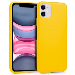 Capa Silicone para iPhone 11 (Amarelo) iPhone 11