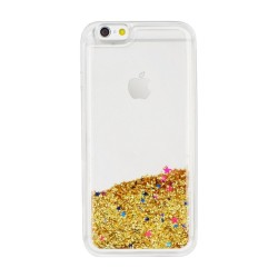 CAPA TRASEIRA PURPURINAS IPHONE 5|5S|SE DOURADA iPhone 5|5S|SE